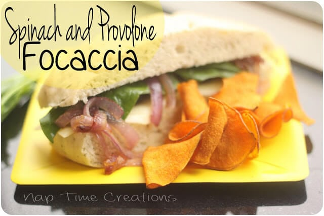 focaccia sandwich