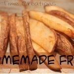 Homemade Fries and Coupons!