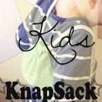Kids Knapsack {Sewing Tutorial}