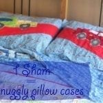Pillow Sham to Pillow Glam {Sewing tutorial}
