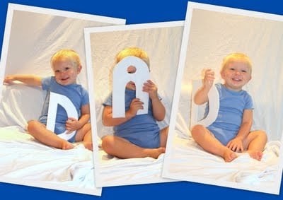 Fathers day photo collage