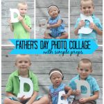 Flashback Friday: Fathers Day Photo Collage