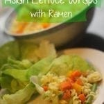 {Easy} Vegetarian Lettuce Wraps
