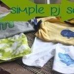 Simple Summer PJ Sets