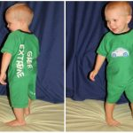 toddler pjs from a old shirt