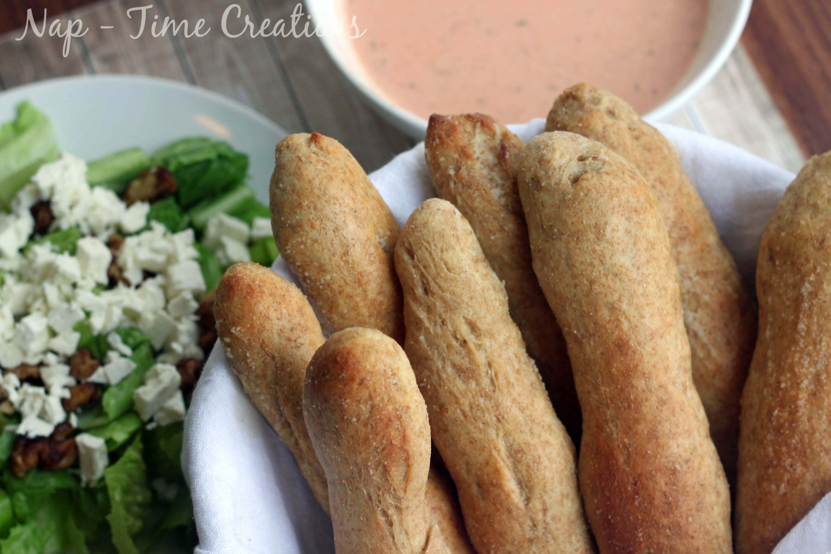 Olive Garden Breadsticks {whole wheat} - Life Sew Savory