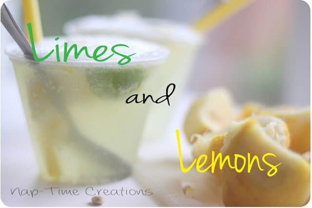 Ice Cream Soda {Lemon Lime Float}