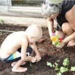 Summer Fun -kids garden