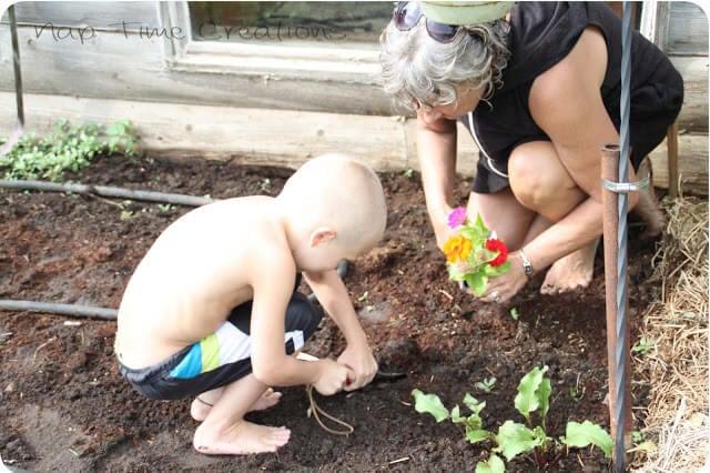 Kids Garden- Summer fun ideas from Nap-Time Creations