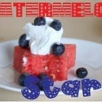 Watermelon Dessert {July 4th Style}