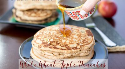 whole wheat apple pancakes recipe