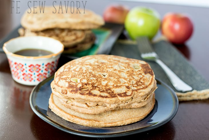 Healthy Pancake recipe apple pancakes healthy