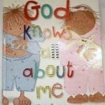 Sew Many Books {God Knows All About Me}