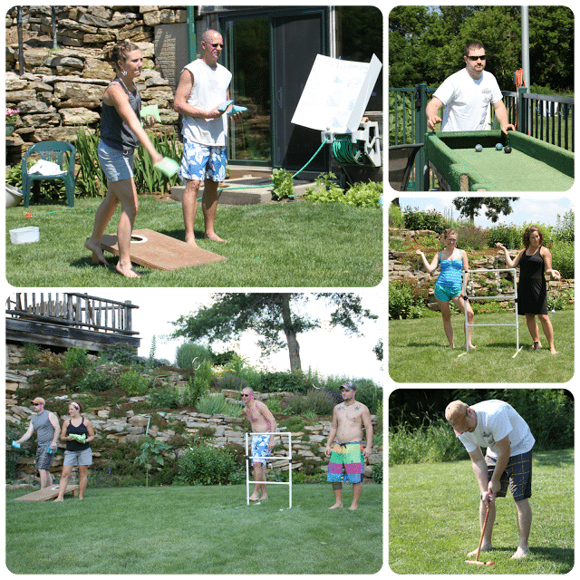 family reunion mini olympics