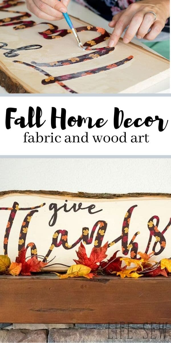 pallet art fall - fall fabric - fabric fall - fall fabric crafts from life sew savory