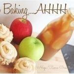 Apple Cupcakes with Salted Caramel Frosting