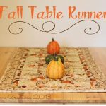 Quilted Table Runner {for Fall}