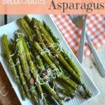 Garlicky-Roasted Asparagus Recipe {Place of my Taste}