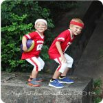 DIY Football Costume {Halloween}