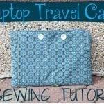 Laptop Case sewing tutorial