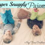 Kids Clothing Week 3 {sewing pajamas}
