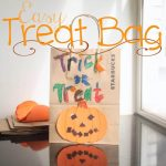 DIY Halloween Treat Bags {easy kids craft}