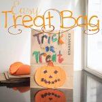 DIY Halloween Treat Bags {easy kids craft}