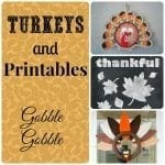 Turkeys! Gobble Gobble {Featuring YOU!}