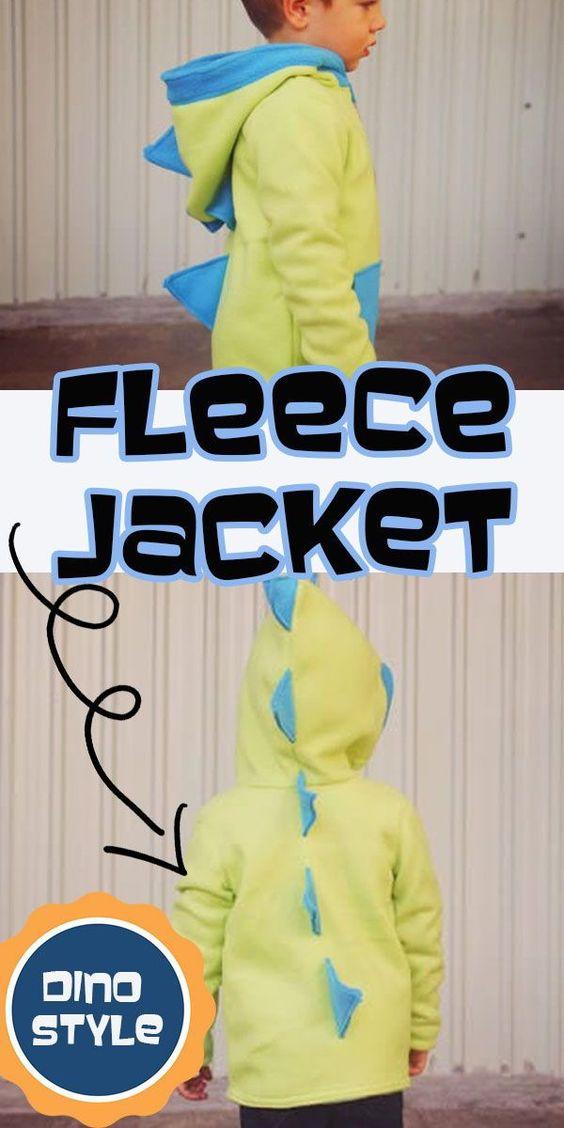 Fleece Jacket: Flip this Pattern