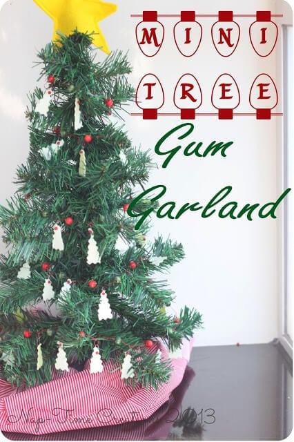 Tree Garland #GiveExtraGum #shop