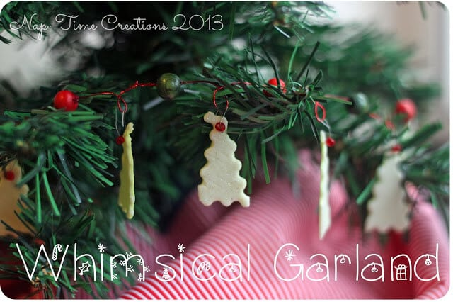Mini Tree garland #shop