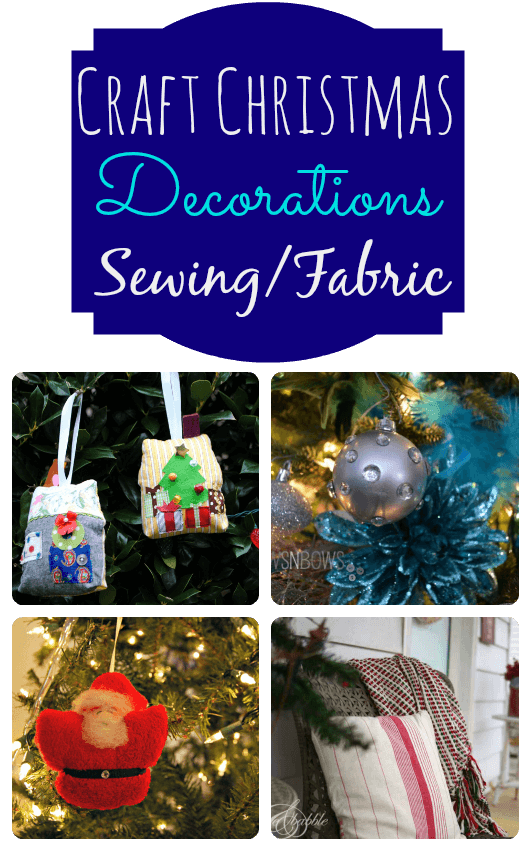 Christmas Decoration with Sewing