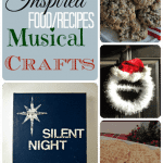 Crafty Christmas Music and Food {Crafts}