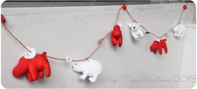 IKEA animal Garland