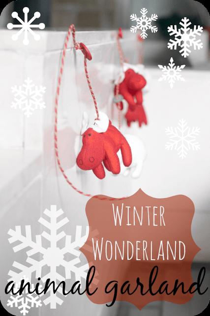 Winter Wonderland Garland
