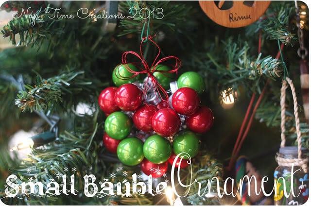 Christmas Bauble Ornament