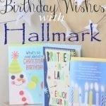 Holiday Birthday Wishes from Hallmark #birthdaysmiles #shop #cbias