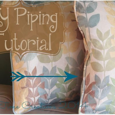 DIY Piping Sewing Tutorial + Video
