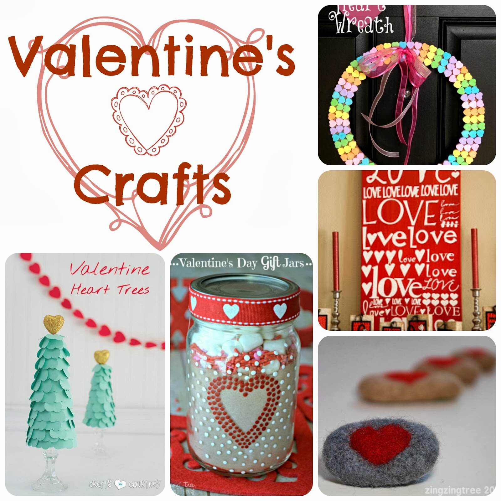 15 Crafts for Valentines Day