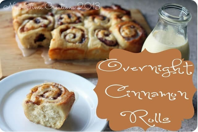 Overnight Cinnamon Rolls recipe from Life Sew Savory
