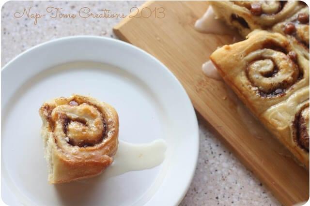 Caramel Cinnamon Rolls