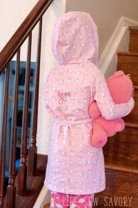 Kids Robe Pattern