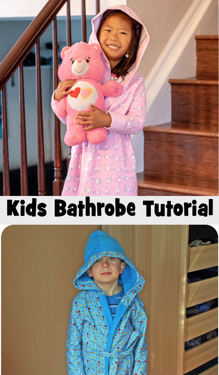 Kids robe Sewing pattern from Life Sew Savory