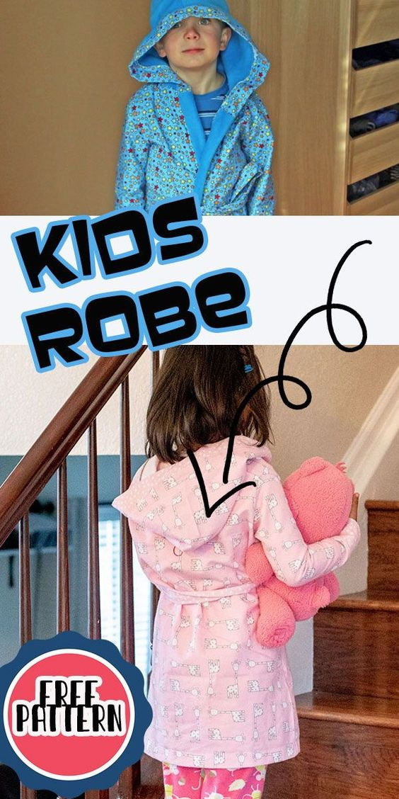 Kids Robe Sewing Tutorial