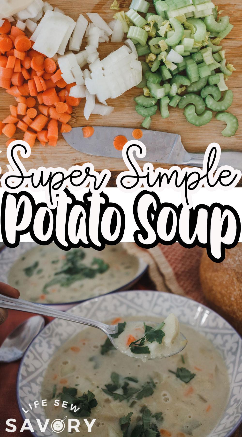 light potato soup easy recipe