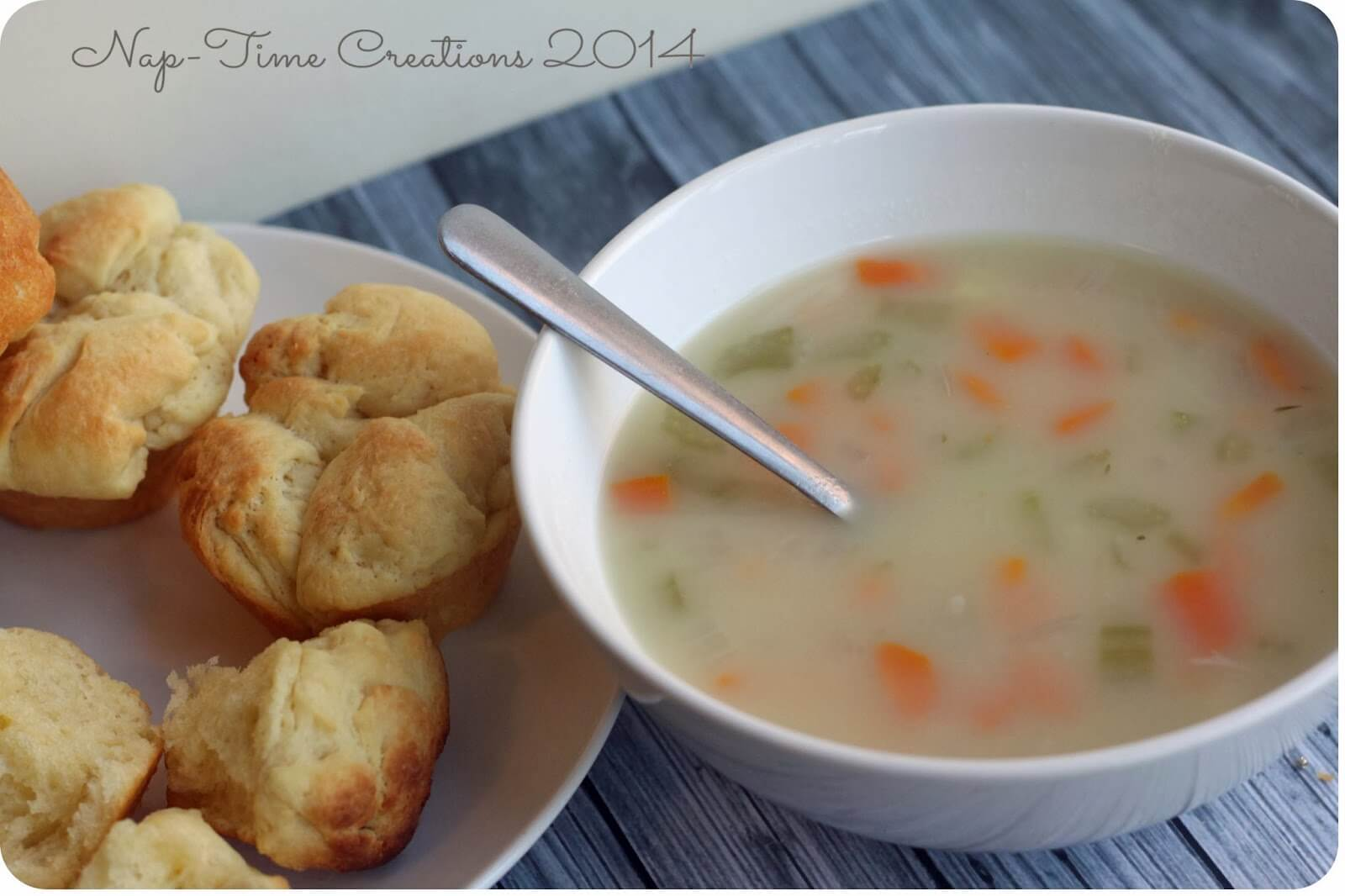 Great I Served This Soup With One Of Our Favorite Bread Recipesu2026 Clover Dinner  Rolls. You Can Find The Recipe Here. Amazing Design