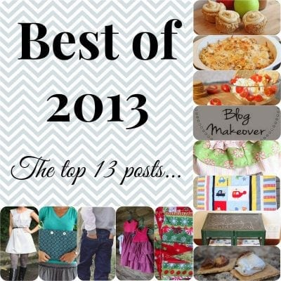 Top 13 blogs posts of 2013
