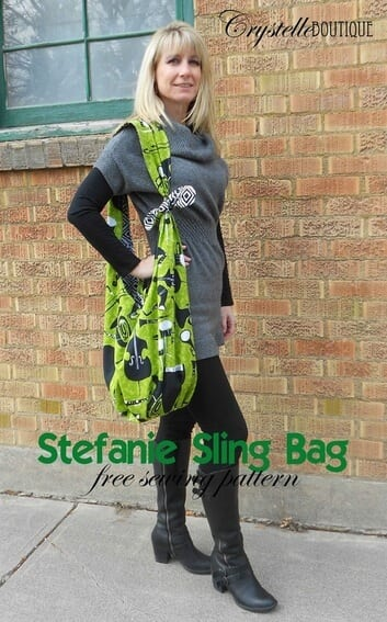 Sew a sling style bag