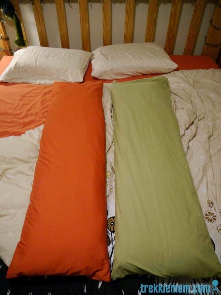 DIY body pillow cover