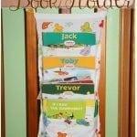 Fabric Book Hanger